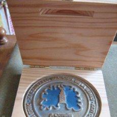 Medallas temáticas: MEDALLA DEL XV CONGRESO NACIONAL DE LA SOCIEDAD ESPAÑOLA DE NEUROCIRUGIA - CORUÑA 2010 - 10,5 CM. Lote 58970995