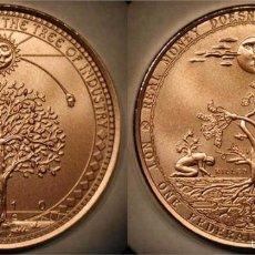Medallas temáticas: MONEDA PROSPERITY WEED MONEY, DANIEL CARR, USA, EDICION LIMITADA 229 PIEZAS. Lote 59745840
