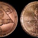 Medallas temáticas: MONEDA DEBT PYRAMID, DEMAND JUSTICE, DANIEL CARR, USA, EDICION LIMITADA 536 PIEZAS. Lote 59796424