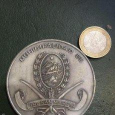 Medallas temáticas: MEDALLA MUNICIPALIDAD SAN MARTIN , ARGENTINA. Lote 60358727
