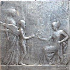 Medallas temáticas: MEDALLA EN PLATA DE LA EXPOSITION UNIVERSELLE INTERNATIONALE DE BRUXELLES 1910. POR OVIDE YENCESSE. Lote 60408815