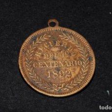Medallas temáticas: MEDALLA RECUERDO 4º CENTENARIO DESCUBRIMIENTO AMÉRICA. 1892. COLÓN. Lote 61454079