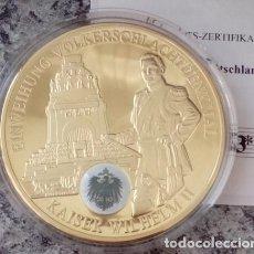 Medallas temáticas: BONITA MONEDA DEL KAISER WILHELM II CON EL ESCUDO DE PRUSIA SOBRE LA MONEDA HISTORIA ALEMANIA 2008. Lote 64073079