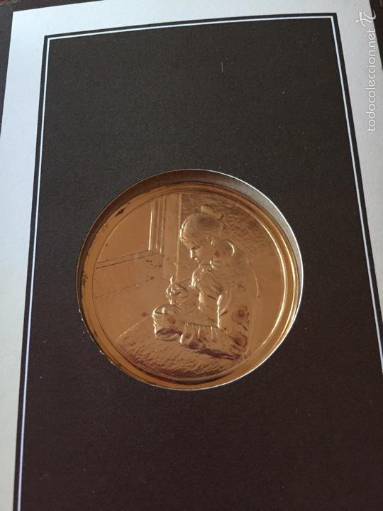 "MEDALLA FRANCESA ""LES CHEFS D'OEUVRE DE L'IMPEESSIONNISME (Numismática - Medallería - Temática)"