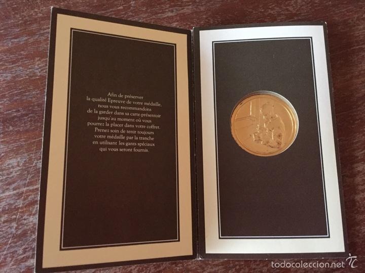 """Medallas temáticas: Medalla francesa """"Les Chefs doeuvre de limpeessionnisme - Foto 3 - 61491903"""