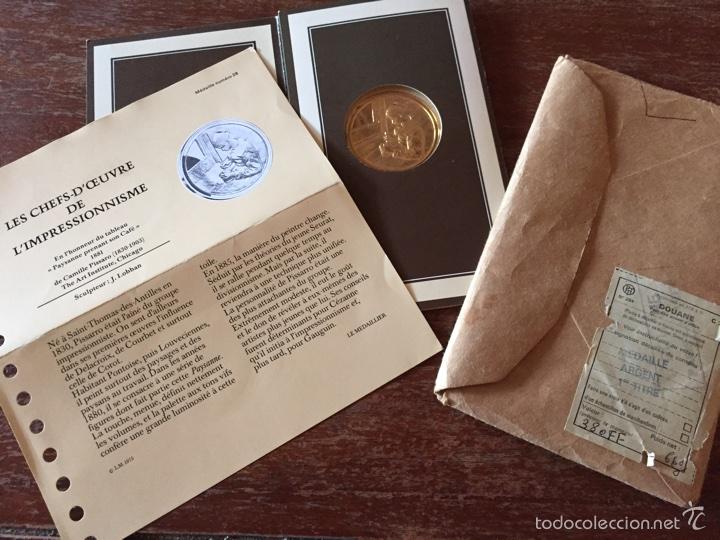 """Medallas temáticas: Medalla francesa """"Les Chefs doeuvre de limpeessionnisme - Foto 6 - 61491903"""