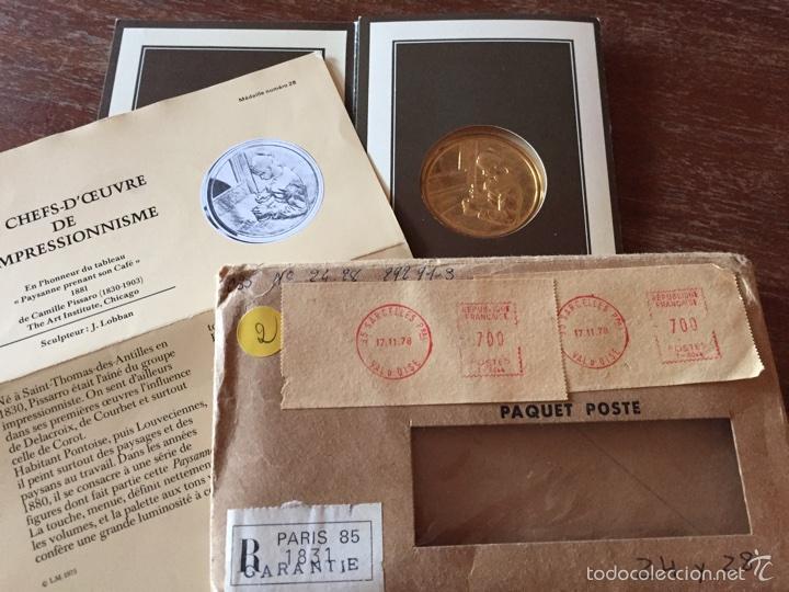 """Medallas temáticas: Medalla francesa """"Les Chefs doeuvre de limpeessionnisme - Foto 7 - 61491903"""