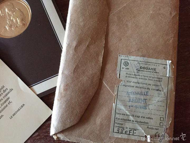 """Medallas temáticas: Medalla francesa """"Les Chefs doeuvre de limpeessionnisme - Foto 8 - 61491903"""