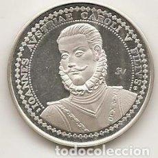 Medallas temáticas: DON JUAN DE AUSTRIA. BATALLA DE LEPANTO. MEDALLA DE PLATA. Lote 62728240