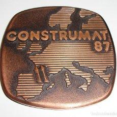 Medallas temáticas: MEDALLA FERIA SALON CONSTRUMAT 87. Lote 62876668