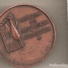 Medallas temáticas: VALENCIA. CERÁMICA Y VIDRIO A PROCOVAL. 1974. Lote 63108016