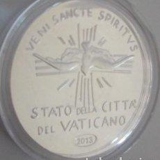 Medallas temáticas: BONITA MONEDA DEL VATICANO EN PLATA NUEVA DE 2013 ESTADO DE LA CIUDAD DEL VATICANO SEDE VACANTE 1978. Lote 64144807