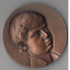 Medallas temáticas: ESPAÑA MEDALLA FELIPE DE BORBON PRINCIPE DE ASTURIAS 1977. Lote 64538447