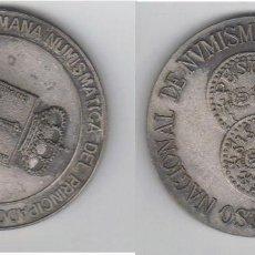 Medallas temáticas: ESPAÑA MEDALLA VI CONGRESO NACIONAL NUMISMATICA OVIEDO 1984 NUMERADA. Lote 64540313