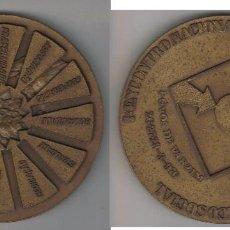 Medallas temáticas: GRAN MEDALLA 1º ENCUENTRO NACIONAL DEL PARTIDO CENTRO DEMOCRATICO SOCIAL 1976. Lote 64540867