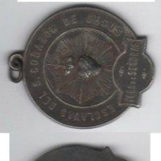 Medallas temáticas: PRECIOSA MEDALLA ESCLAVAS DEL S. CORAZON DE JESUS VER DETALLE RARA. Lote 64866777