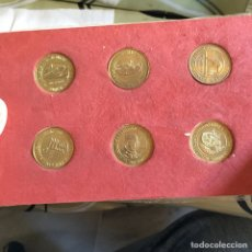 Medallas temáticas: LOTE DE 6 MEDALLAS CECA EL NAVEGANTE. Lote 66464402
