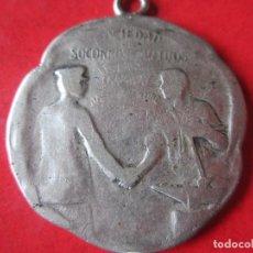 Medallas temáticas: MEDALLA SOCIEDAD SOCORROS MUTUOS DE TRANVIAS. Lote 67297941