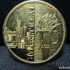 Medallas temáticas: OLIMPIADAS MONTREAL 1976. Lote 67857945