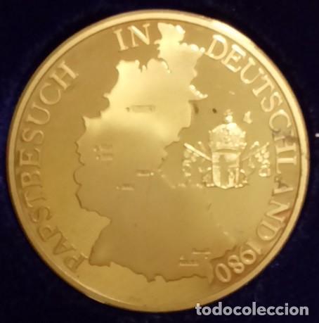Medallas temáticas: MUY BONITA MONEDA DEL PAPA JUAN PABLO II EN SU VISITA A ALEMANIA EN MÜNCHEN AÑO 1980 - Foto 2 - 234466600