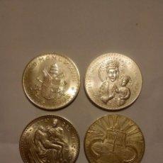 Medallas temáticas: 4 MEDALLAS JUAN PABLO II. Lote 68950929