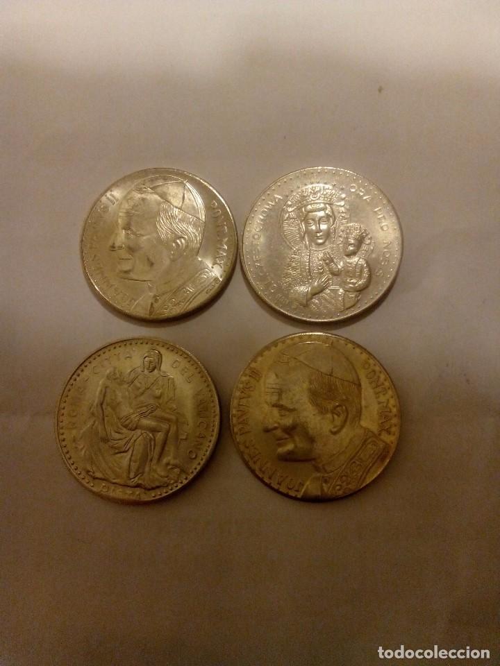 Medallas temáticas: 4 Medallas Juan Pablo II - Foto 3 - 68950929