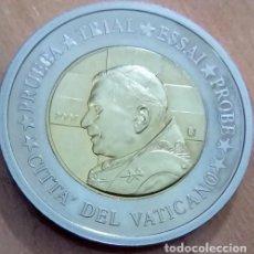 MONEDA PRUEBA TRIAL AÑO 2007 CONMEMORATIVA AL PAPA BENEDICTO XVI CIUDAD DEL VATICANO