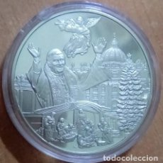 Medallas temáticas: BONITA MONEDA PLATA DEL PAPA BENEDICTO XVI ALEMANIA NAVIDADES AÑO 2005 EDICION LIMITADA. Lote 69674245