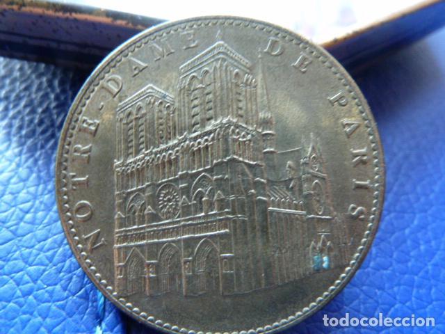 Medallas temáticas: MONEDA DE LA CATEDRAL DE NOTRE -DAME-PARIS EDICION 2007 - Foto 2 - 71048961