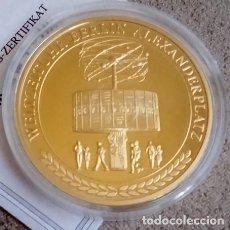 Medallas temáticas: INTERESANTE MONEDA DEL RELOJ MUNDIAL URANIA DEL ALEXANDERPLATZ EN BERLIN ALEMANIA EDICION LIMITADA. Lote 71598479