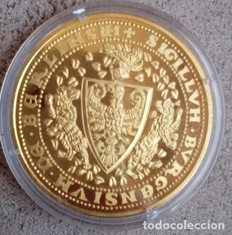 BONITA MONEDA CON EL ESCUDO HISTORICO MAS ANTIGUO DE BERLIN DESDE EL AÑO 1280 ALEMANIA (Numismática - Medallería - Temática)