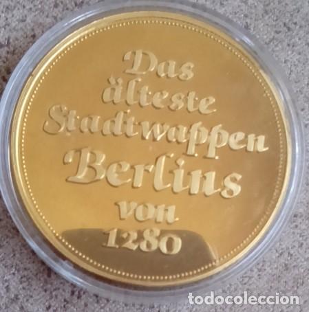 Medallas temáticas: BONITA MONEDA CON EL ESCUDO HISTORICO MAS ANTIGUO DE BERLIN DESDE EL AÑO 1280 ALEMANIA - Foto 2 - 71707039