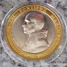 Medallas temáticas: MONEDA DEL VATICANO AL PAPA PIO XII 1939-1958 PIVS XII PONTIFEX MAXIMVS BASILICA SANCTI LAVRENTII. Lote 71707707