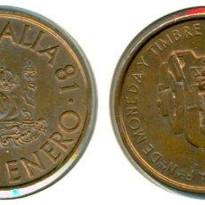 Medallas temáticas: MEDALLA CONMEMORATIVA JUVENALIA - FÁBRICA NACIONAL DE MONEDA Y TIMBRE 1981. Lote 71832291