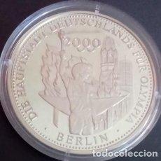 Medallas temáticas: BONITA MONEDA PLATA CONMEMORATIVA A BERLIN CAPITAL DE ALEMANIA PARA OLYMPIA 2000. Lote 72205363