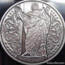 Medallas temáticas: BONITA E INTERESANTE MONEDA PLATA DE BENEDICTO XVI Y EL APOSTOL BARTOLOMÉ EN ESTUCHE. Lote 72758607
