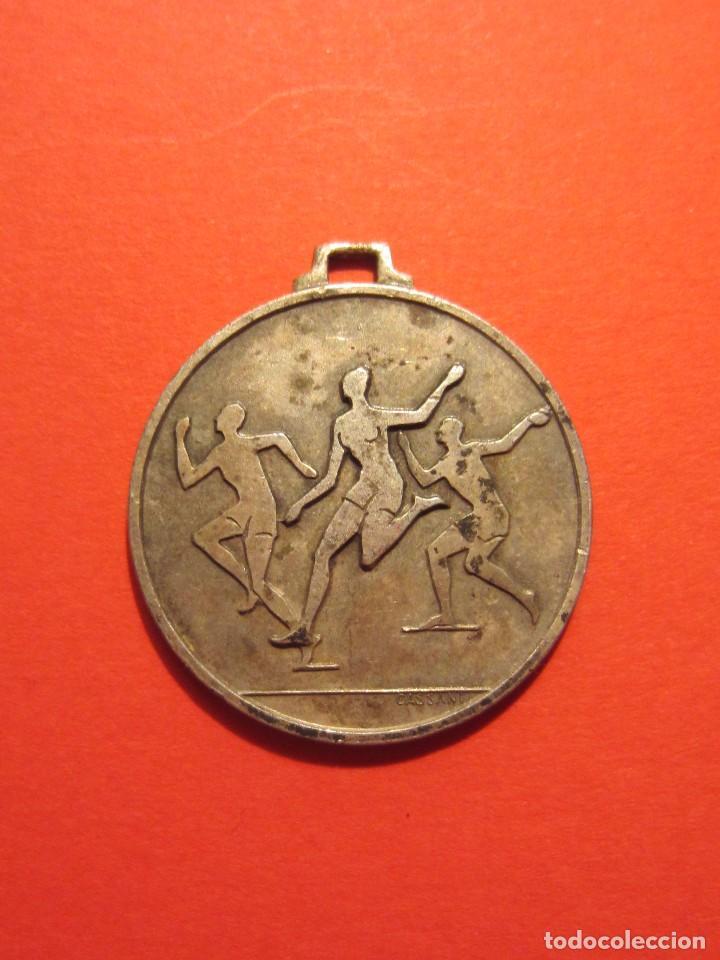 ANTIGUA MEDALLA DEPORTIVA , CASSANI (Numismática - Medallería - Temática)