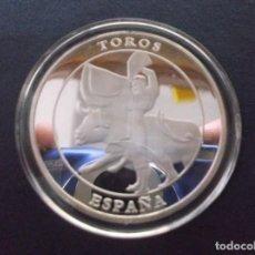 Medallas temáticas: MEDALLA CONMEMORATIVA DEDICADA A LOS TOROS,. Lote 73746843