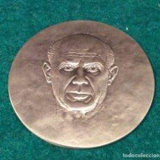 Medallas temáticas: PABLO PICASSO MEDALLA DE PLATA 1881-1973. Lote 74295759