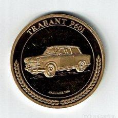 Medallas temáticas: RDA MEDALLA 1949 1990 TRABANT P 601 BAUJAHR AÑO 1964 40 MM 28,4 GRAMOS. Lote 74601287