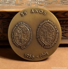 Medallas temáticas: GRAN MEDALLÓN XIX CONGRESSO LUSO ESPANHOL DE ORTOPEDIA E TRAUMATOLOGÍA.-ALGARVE 1991. Lote 74653295