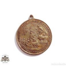 Medallas temáticas: MEDALLA DE SAN JOSE DE CALASANZ, FUNDADOR DE LAS ESCUELAS PIAS, EN BRONCE.PRINCIPIOS SIGLO XX. Lote 76616283