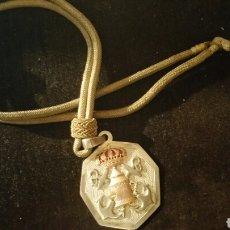 Medallas temáticas: MEDALLÓN DE COFRADÍA DE LOS CALIFORNIOS, DOS ANCLAS CRUZADAS Y FARO REALIZADA EN PLATA Y EN ORO. Lote 77448531