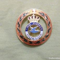 Medallas temáticas: INSIGNIA METAL ESMALTADA, TIRO PICHON HUELVA, COGIDA ALFILER,. Lote 77633405