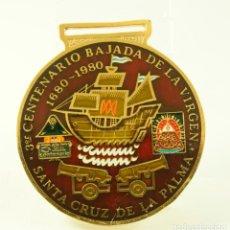Medallas temáticas: MEDALLA ESMALTADA SANTA CRUZ DE LA PALMA BARCOS 1980. Lote 79001981