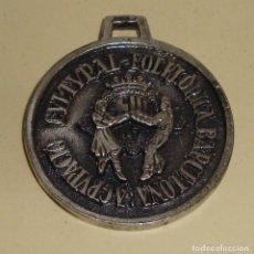 Medallas temáticas: MEDALLA TEMA SARDANA CULTURAL FOLKLORICA BARCELONA F B DIT I FET 1988. Lote 79085241