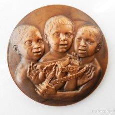 Medallas temáticas: GRAN MEDALLA AÑO INTERNACIONAL DE LOS DERECHOS DEL NIÑO. AÑO 1979. Lote 79283597