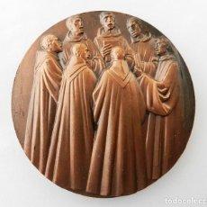 Medallas temáticas: GRAN MEDALLA F.N.M.T. CANTO GREGORIANO EN SILOS. Lote 79285077