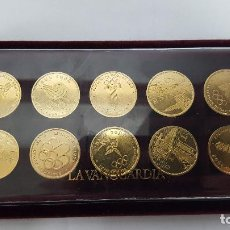 Medallas temáticas: COLECCION DE 10 MEDALLAS OLIMPIADAS DESDE 1964 AL 2000 -. Lote 79470757