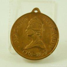 Medallas temáticas: MEDALLA FRANCESA MADAME TUSSAUD. Lote 80874355